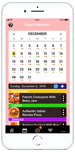 Meal Planning made easy with the Recipe Selfie cooking app